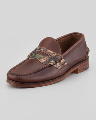 Eastbrook USA Camo Penny Loafer