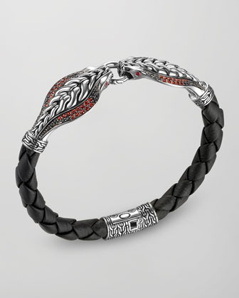 Double Cobra Head Bracelet
