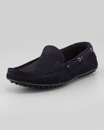 Slip-On Driving Shoe, Navy