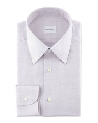 Textured Dress Shirt, Lavender