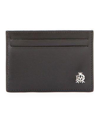 Wessex Simple Card Case, Black