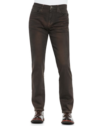Birxton Brown Oil Jeans