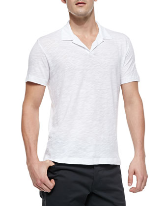 Willem Cohesive Short-Sleeve Polo, White