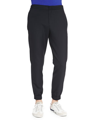 Stretch-Nylon Track Pants