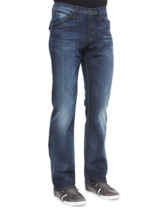 Weber Button-Flap Pocket Jeans, Legend