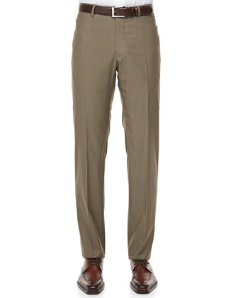 150s Wool Trousers, Tan