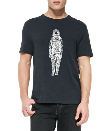 Jersey Spaceman Graphic Tee