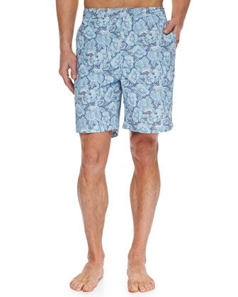 Como Fancy Swim Trunks, Navy
