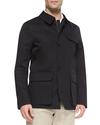 Tech Garden Jacket, Navy