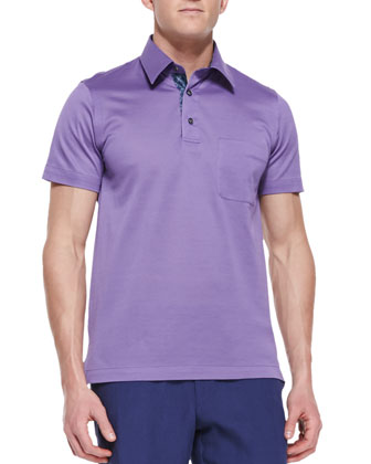 Pique Polo Shirt with
