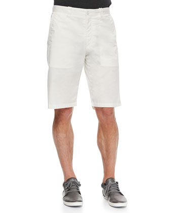 Lightweight Cotton Shorts, Beige