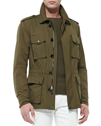 Safari Jacket, Thicket Moss
