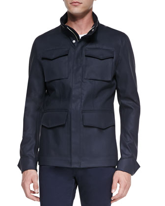 Ibsen Four-Pocket Field Jacket