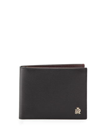 Belgrave Bi-Fold Card Case, Black