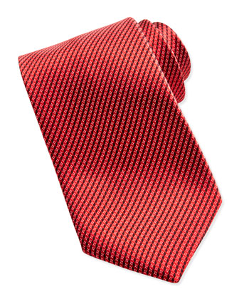 Micro-Neat Tie, Red
