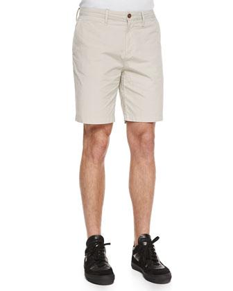 Lightweight Cotton Shorts, Camel