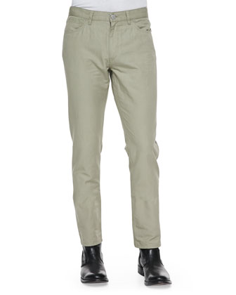 Haydin Five-Pocket Pants, Khaki