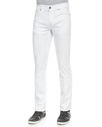 5011 Denim Jeans, White