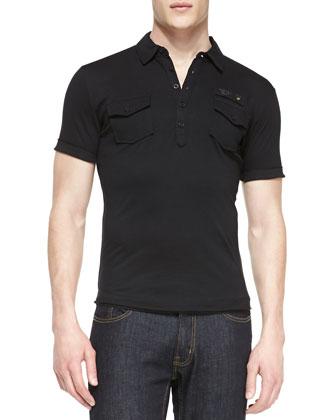 T. Maya Jersey Polo Shirt