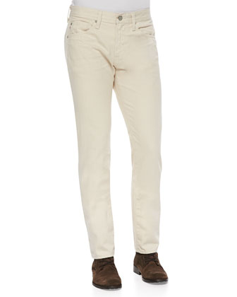 Matchbox 1-Year Natural Wash Jeans, Bone