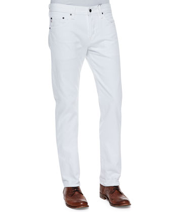 Matchbox White Denim Jeans
