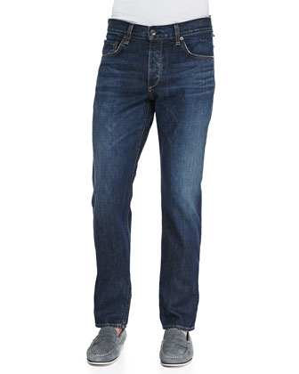 Berkeley Slim-Fit Jeans, Medium Blue