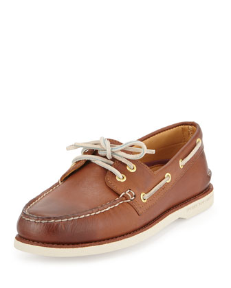 Gold Cup Authentic Original Boat Shoe, Tan