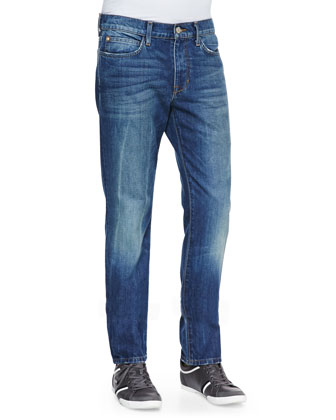 Brixton Samir Vintage Reserve Jeans, Medium Blue