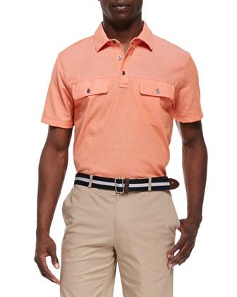Two-Pocket Polo Shirt