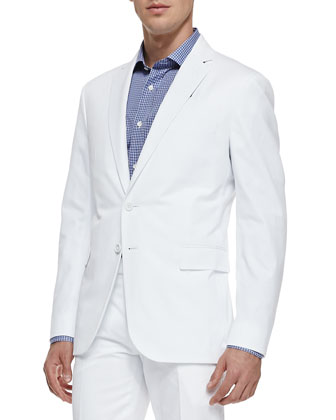 Nigel Cotton Jacket, White