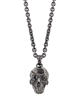 Men's Classic Chain Skull Necklace
