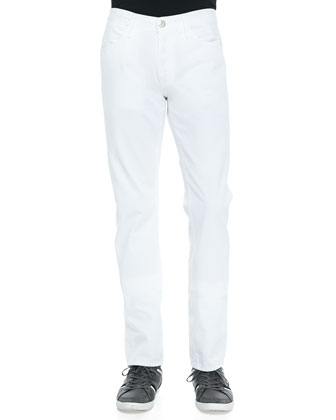M3 White Selvedge Twill Jeans