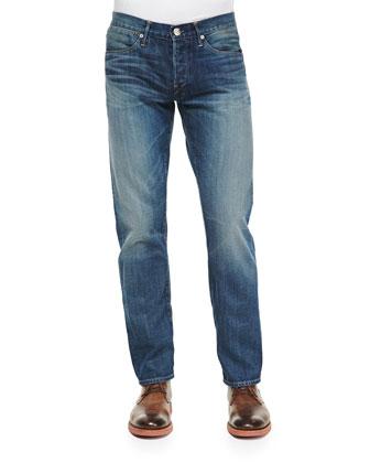 M4 Frank Straight-Leg Jeans