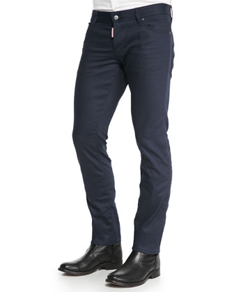 Slim-Fit Overdyed Jeans
