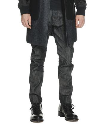 Slim-Leg Denim Jeans