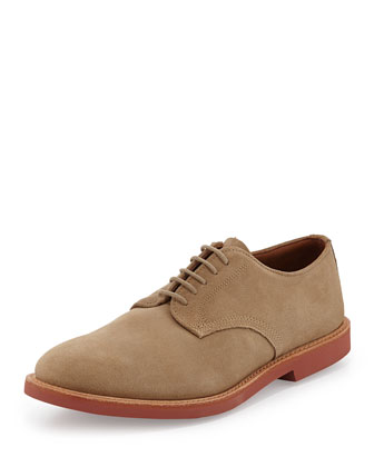 Abram Suede Lace-Up Oxford, Dirty Buck