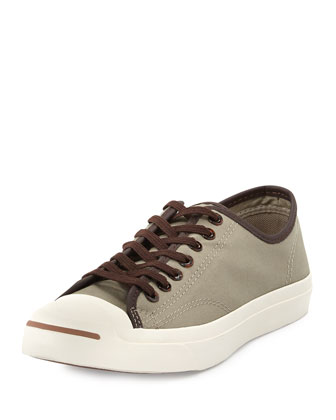 Jack Purcell Low-Profile Tortoise Sneaker, Khaki