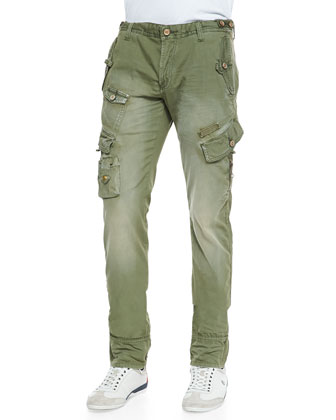 Cypress Safari Cargo Pants, Olive