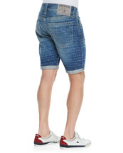 Geno Lazy River Cutoff Denim Shorts