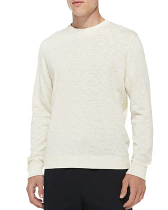 Heathered Vintage Sweatshirt, White