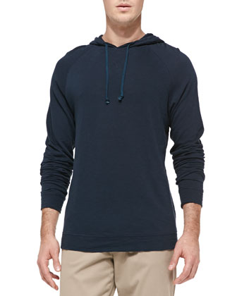 Jersey Flame Pullover Hoodie, Coastal