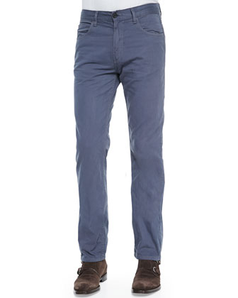 Ashland Five-Pocket Pants, Steel Blue