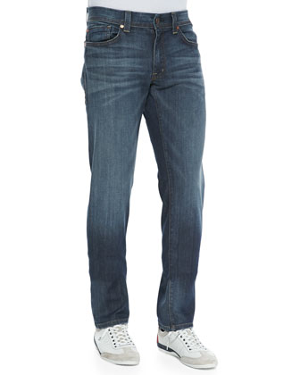 SLIM JIM WINDSOR BLUE DENIM
