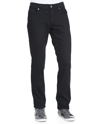 Slim Jim Town Black Rinse Jeans
