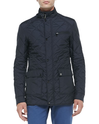 Quilted Tech Jacket & 5-Pocket Twill Pants