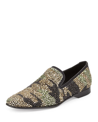 Pascow Men's Camo-Beaded Loafer