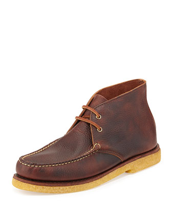 Monhegen USA Chukka Boot, Cigar