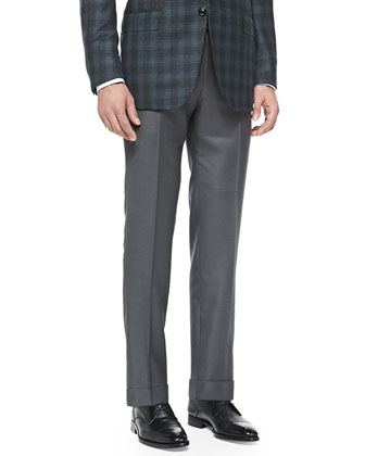 Trofeo Twill Trousers, Gray