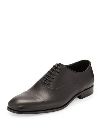 Stamped Cap-Toe Oxford