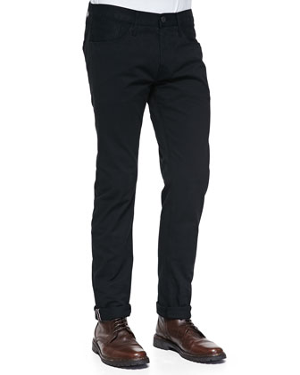 M3 Selvedge Twill Jeans, Black